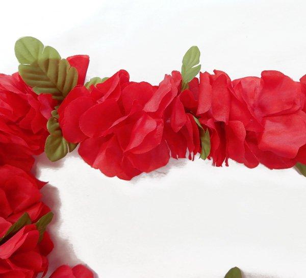 フラワーズレイ レッド 赤【画像2】
