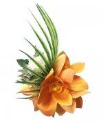 ヘアクリップ(髪飾り) アレンジ ヘアクリップ KC-046 オレンジ