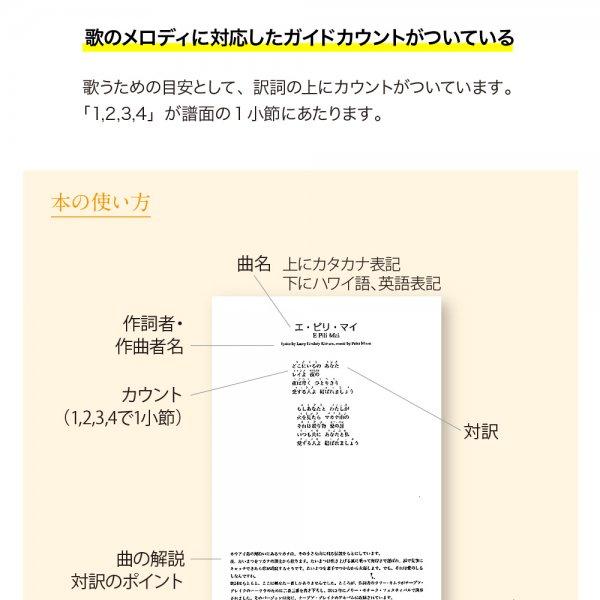 書籍『フラが踊れる対訳本 』日本語の対訳通りの振りで踊れる対訳集200【画像4】