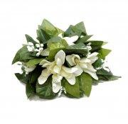 ホワイト(白) アイランドチューブローズハワイマイレXLクリップ グリーン ホワイト
