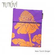 パープル(紫) オーダードキュメントケース TUTUVI ニュートーチジンジャー パープル オレンジ