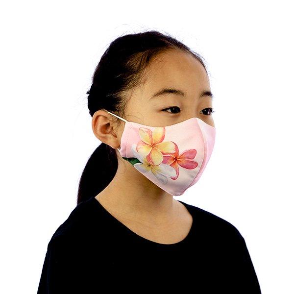マスク 布製 送料無料 プルメリア ピンク【画像6】