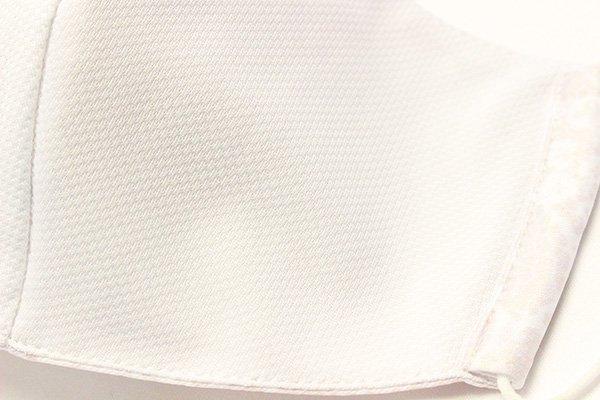 マスク 布製 送料無料 レースプリント ライトグレー  【画像3】