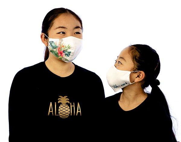 マスク 布製 送料無料 タパ ホワイト【画像11】