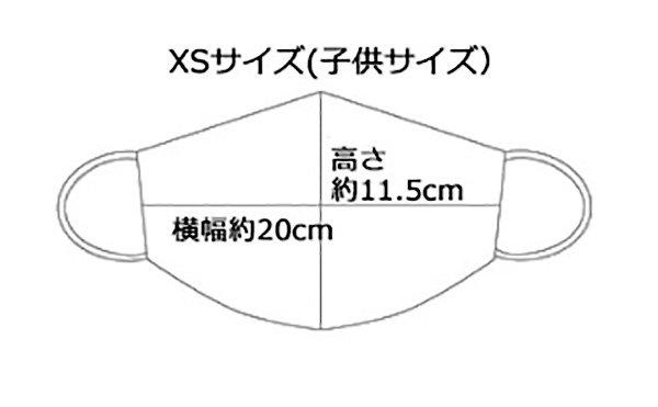 子供マスク 布製 送料無料 ライオン イエロー 【画像4】