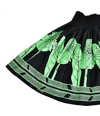 TUTUVIパウ(柄:トーチジンジャー/色:ブラック・ミントグリーン)【画像2】