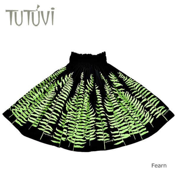TUTUVIパウ(柄:ファーン/色:ブラック・グリーン)【画像3】