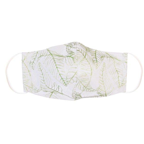マスク 布製 送料無料 リコ ホワイト モスグリーン