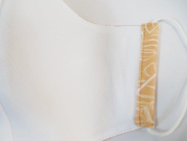 マスク 布製 送料無料 リコ キャメル【画像3】