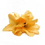 ヘアクリップ(髪飾り) アレンジ ヘアクリップ KC-LA-3 ハワイ島別シリーズ ラナイ島 オレンジ