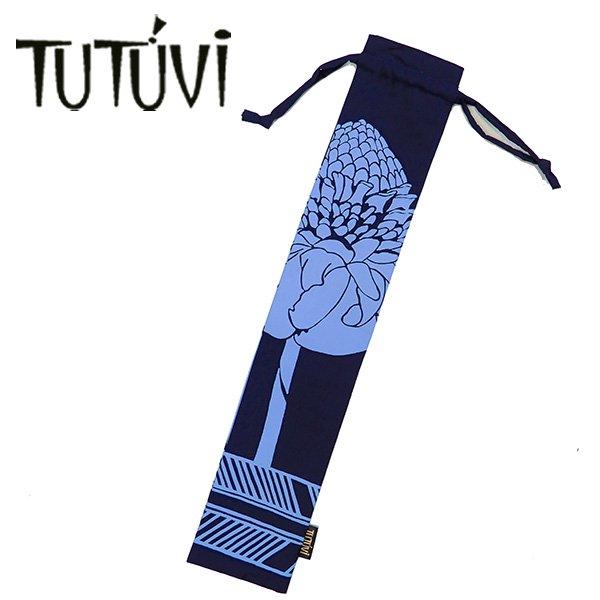 TUTUVI  プイリケース1 トーチジンジャー ネイビー・ブルー【画像3】