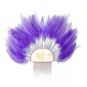 パープル(紫) フェザーコーム パープル 在庫限り  訳ありお値引き価格