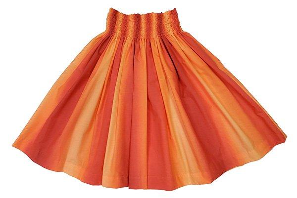 ハワイアングラデーション パウスカート オレンジ