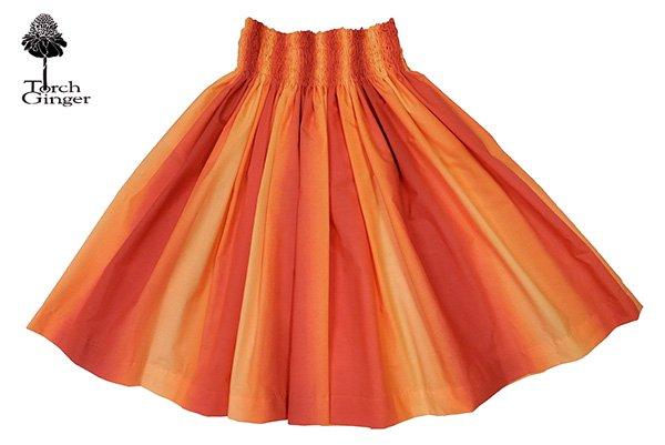 ハワイアングラデーション パウスカート オレンジ【画像3】
