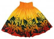 パウスカート ハワイアンファブリック パウスカート オレンジ レッド ネイビー