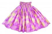 パープル(紫) ハワイアングラデーション パウスカート ピンクパープル