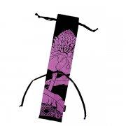 フラダンス用品 色で選びたい TUTUVI  プイリケース2 ニュートーチジンジャー ブラック・ピンク