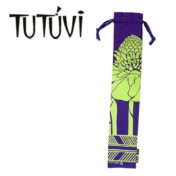 TUTUVI  プーイリケース1 トーチジンジャー パープル グリーン【画像2】