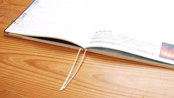 2022 ハワイ手帳  TUTUVIバージョン トーチジンジャー コーラル(リバーシブル表紙 タパブロック)【画像8】