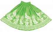 グリーン(緑) TUTUVIパウ(柄:レフアタパ/色:キウイ)