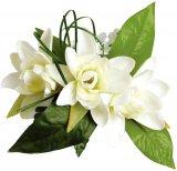 ホワイト(白) マイレチューブローズ ヘアクリップ