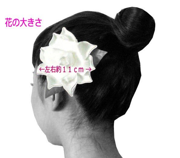 コロヘシングルガーデニア ヘアクリップ【画像4】