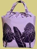 パープル(紫) オーダートートバックJLK 巾着カバー付き TUTUVI トーチジンジャー(色ソフトラベンダー・パープル)