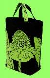 ブラック(黒) オーダートートバックJHS TUTUVI トーチジンジャー(色/ブラック・グリーン)