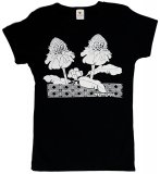 Tシャツ TUTUVI Tシャツ(柄:ニュートーチジンジャー 色:ブラック/ホワイト)