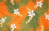ハワイアンプリントファブリック ハワイアンファブリック 50229 オレンジ