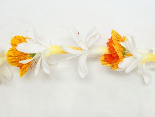 SALE チューブローズランタンイリマレイ 白オレンジ【画像2】