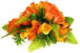 オレンジ アレンジ ヘアクリップ No.1082