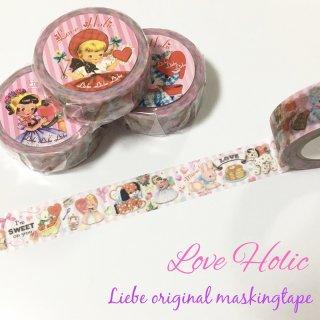 オリジナルマスキングテープ「Love Holic」
