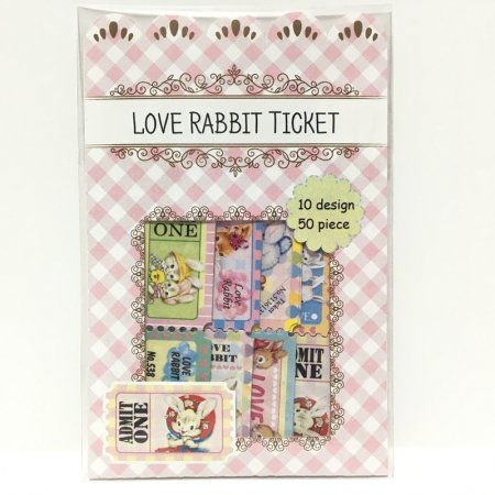 Love Rabbit Ticket