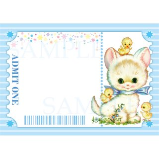 <img class='new_mark_img1' src='https://img.shop-pro.jp/img/new/icons1.gif' style='border:none;display:inline;margin:0px;padding:0px;width:auto;' />A7メモ「Animal Ticket -b-」