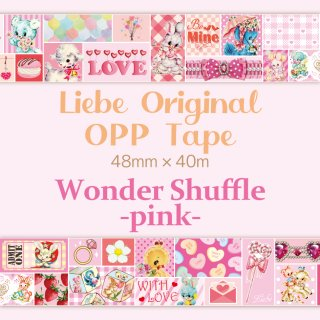 <img class='new_mark_img1' src='https://img.shop-pro.jp/img/new/icons53.gif' style='border:none;display:inline;margin:0px;padding:0px;width:auto;' />OPPテープ「Wonder Shuffle -pink-」