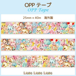 <img class='new_mark_img1' src='https://img.shop-pro.jp/img/new/icons53.gif' style='border:none;display:inline;margin:0px;padding:0px;width:auto;' />OPPテープ「Animal Festa」