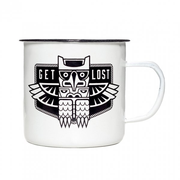 <img class='new_mark_img1' src='https://img.shop-pro.jp/img/new/icons41.gif' style='border:none;display:inline;margin:0px;padding:0px;width:auto;' />【SOURPUSS】ENAMELWARE MUG GET LOST