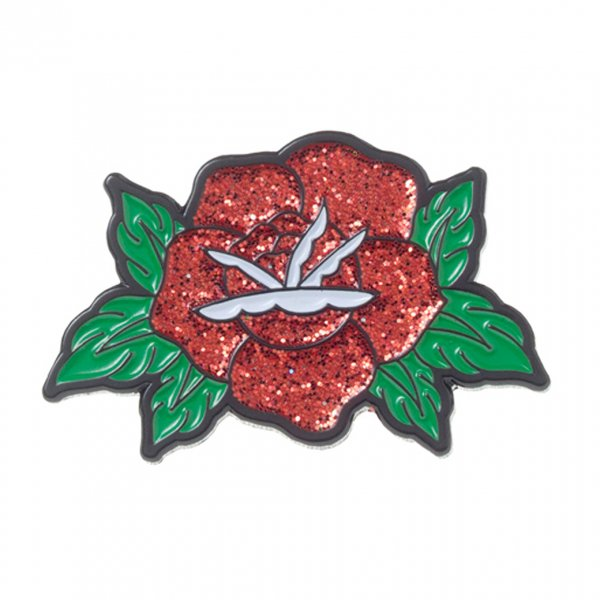 【SOURPUSS】ROSE ENAMEL PIN