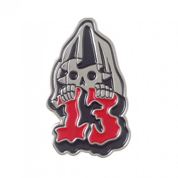 【SOURPUSS】GRIM REAPER ENAMEL PIN