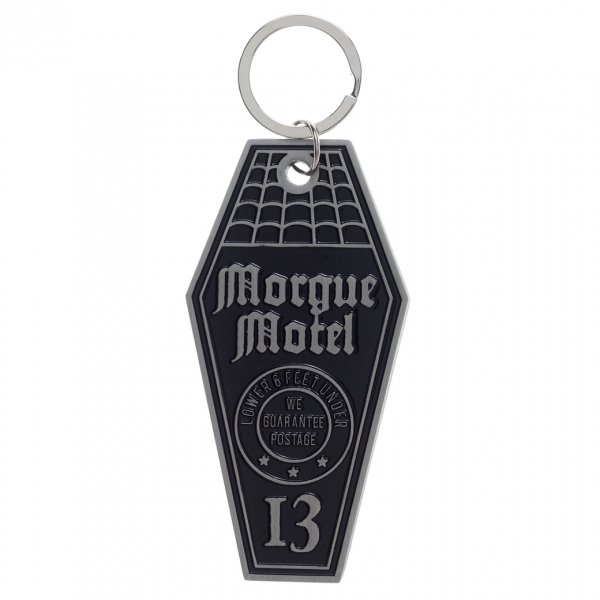 【SOURPUSS】MORGUE MOTEL KEYCHAIN
