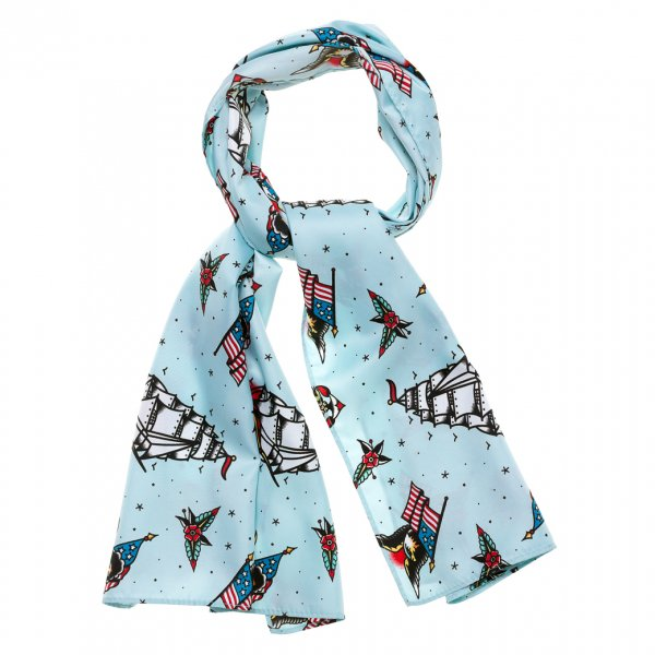 【SOURPUSS】SAILOR BAD GIRL SCARF