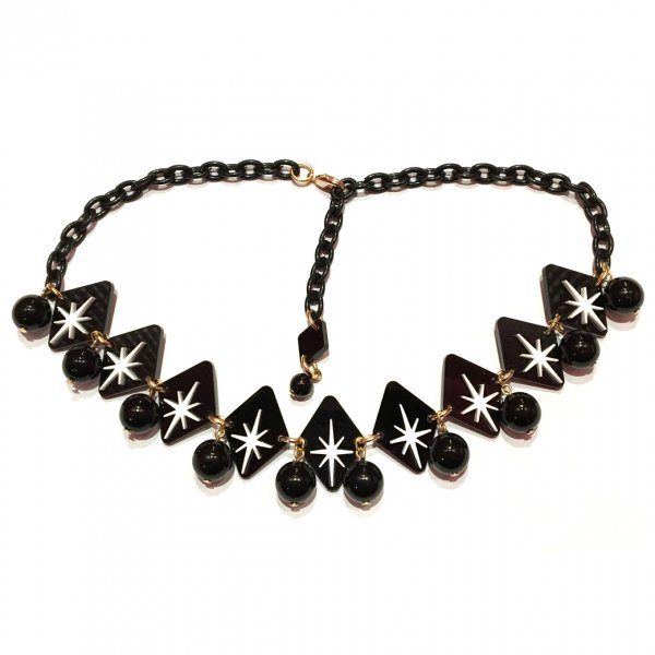 【CALL for DOLL】BURST STAR CHOKER Black c-bs003