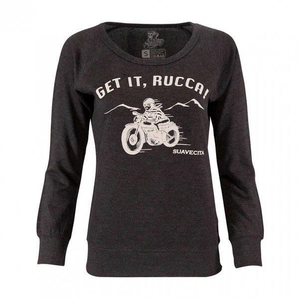 【Suavecita】Moto Babe Crewneck Sweatshirt
