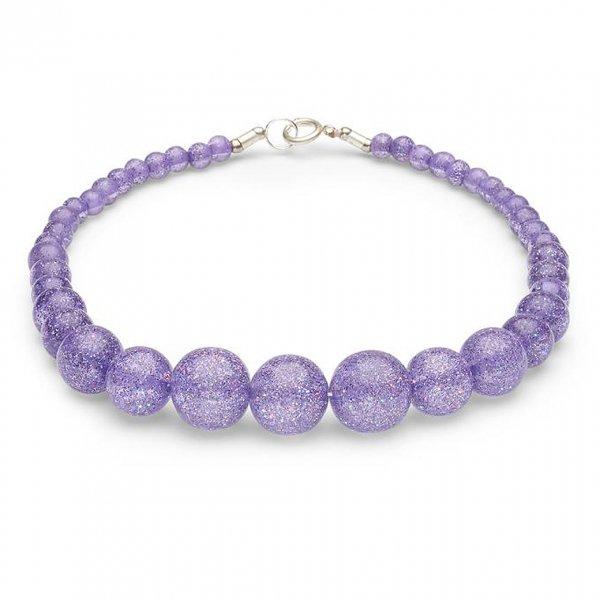 【Splendette】Lilac Glitter Beads