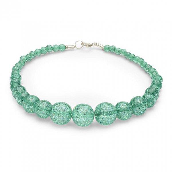 【Splendette】Green Lagoon Glitter Beads