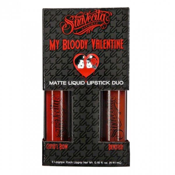 LAST ONE!!【Suavecito】Suavecita My Bloody Valentine Lipgrip Duo