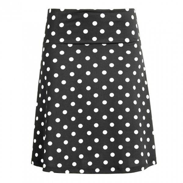【King Louie】Border Skirt Partypolka Black
