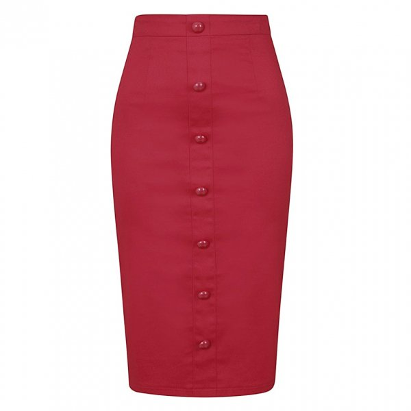 【Collectif】Bettina Pencil Skirt
