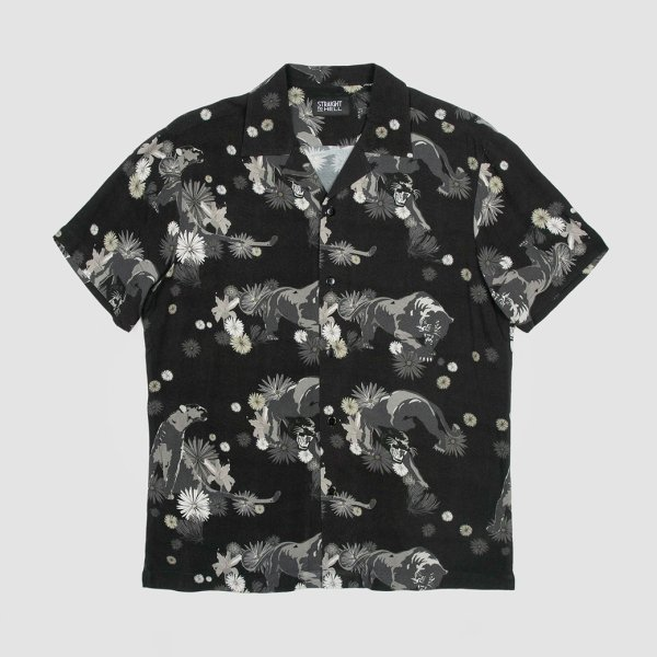 【STRAIGHT to HELL】Way of the Warrior Panther and Floral Print